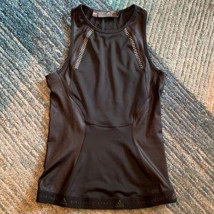 Parley Stella McCartney Adidas black workout tank